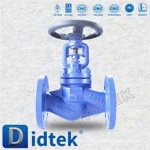 Didtek PN40 DN50 Bellow Seal Globe Valve