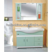 2013 Glass Doors White laundry sink cabinet combo