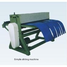 Simple slitting machine accessory equipment