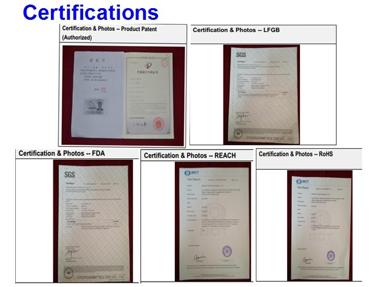 Silicone Lid Set Factory Certifications