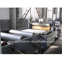 Linha de produção livre de folha de espuma WPC