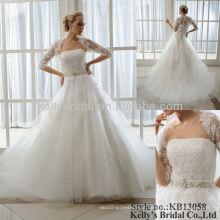 Vestido de baile de renda pesada 2013 últimos vestidos de noiva
