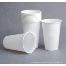 Популярный мягкий PS пластиковый стаканчик европейского стиля высокого качества 200мл