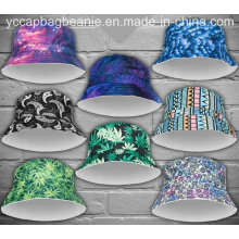 Chapéu feito sob encomenda da cubeta da sublimação da impressão de 3D Digitas