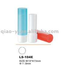 Plastic lip stick packaging