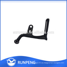 Protector de piso de pierna de silla de estampado de aluminio negro