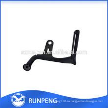 Черный Алюминиевый Штемпелевать ножку стула этаж протектор