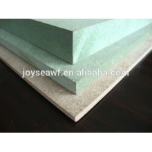 water-proof mdf board/water resistant mdf board/waterproof green mdf
