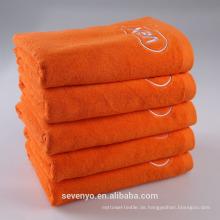 Günstige 100% ägyptische Baumwolle Softextile Handtuch Badetücher mit gesticktem benutzerdefinierten Logo BtT-184 China-Lieferanten