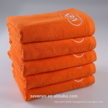 Cheap 100% Egyptian cotton softextile towel bath towels with embroidered custom logo BtT-184 China Supplier