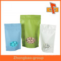 China factory hot sale products rice paper bag with window for candy and nuts custom-made