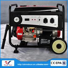 5кВт/220В Нержавеющая сталь генератора, двигателем дизеля 8hp верхнеклапанный 6500