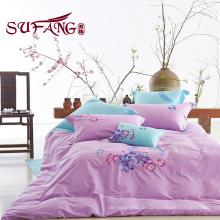 Baumwolle billige Bettwäsche 60S Stickerei