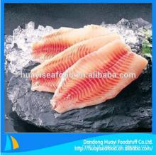 Superior IQF filé de peixe fresco tilápia congelado com bom preço e serviços