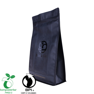 Ziplock Square Bottom Biodegradable Food Grade Bag Factory China