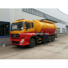 Heavy duty sewer cleaning vacuum suction truck