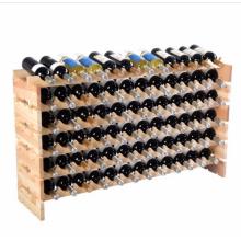 Minghou high quality Hot selling wooden wine bottle holder racks for sale