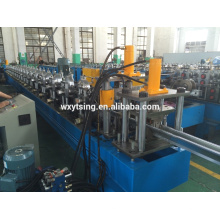 Passed CE and ISO YTSING-YD-0662 Full Automatic Roof Guttering and rain gutter Roll Forming Machine