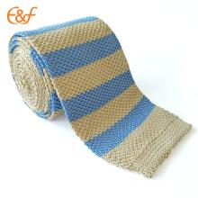 Latest Korea Stripe Silk Tie Style For Business Men