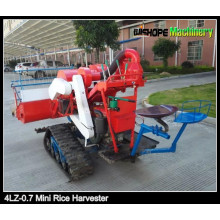 Triturador de borracha Mini Rice Harvester para venda na Índia