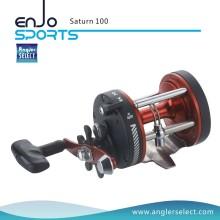 Angler Select Saturn Starker Graphit Körper / 1 Lager / Rechtsgriff Seefischerei Trolling Reel Angelgerät (Saturn 100)