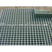 Plancher en acier (passerelle), grille de cheminée, grille galvanisée, plate-forme en acier