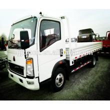 Camión de carga de Howo 6 * 4 / camión de HOWO van / camión ligero del cargo de HOWO / camión de la caja del cargo ligero