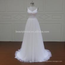 1260 Spaghetti Strap robe de mariée en gros robe de mariée