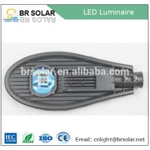 alta cámara de ip solar de cristal transparente del toughedend con la luz de calle llevada