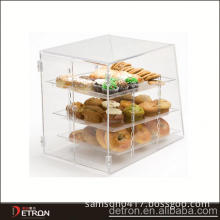 bakery display case acrylic display cabinet