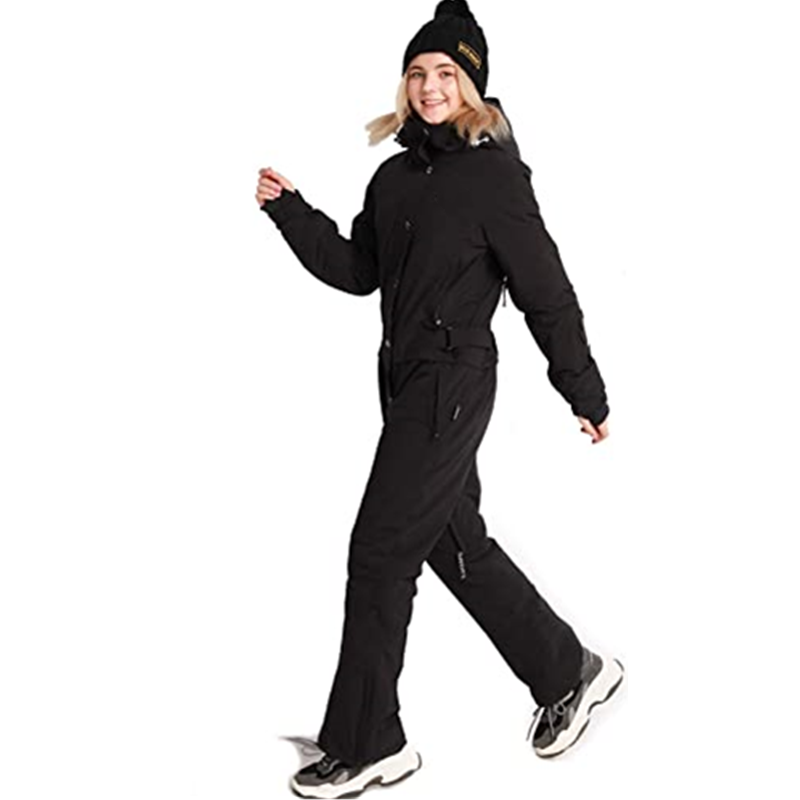 Women S One Pieces Ski Suits Jumpsuits Coveralls Winter Outdoor Waterproof Snowsuits For Snow Sports1