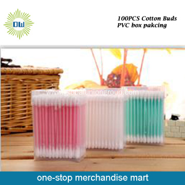 Colorful Cotton Buds