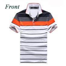 Neuestes Ankunfts-Mikrofaser-kühles trockenes Sport-Polo-Hemd für Männer