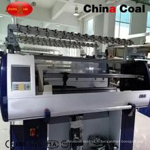 Machine à tricoter informatisée de chandail plat