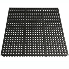 Interlocking Tile Non-Skid Oil Resistance Hotel Rubber Mat