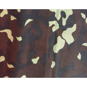 100% Nylon Oxford Camouflage Fabric with PU Coating