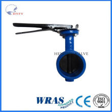Quality and quantity assured steel casting hand control butterfly valve