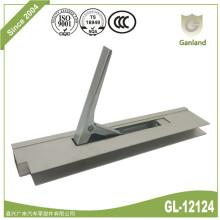 Fechadura lateral vertical em perfil de alumínio anodizado