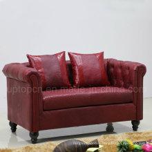 High Quality Grace Home Sofa Seating Leather Sofa (SP-KS314)