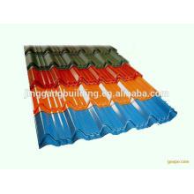 высокое качество цвет рифленый стальной лист Толя для дома контейнера