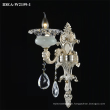 contemporary wall light glass candle chandelier