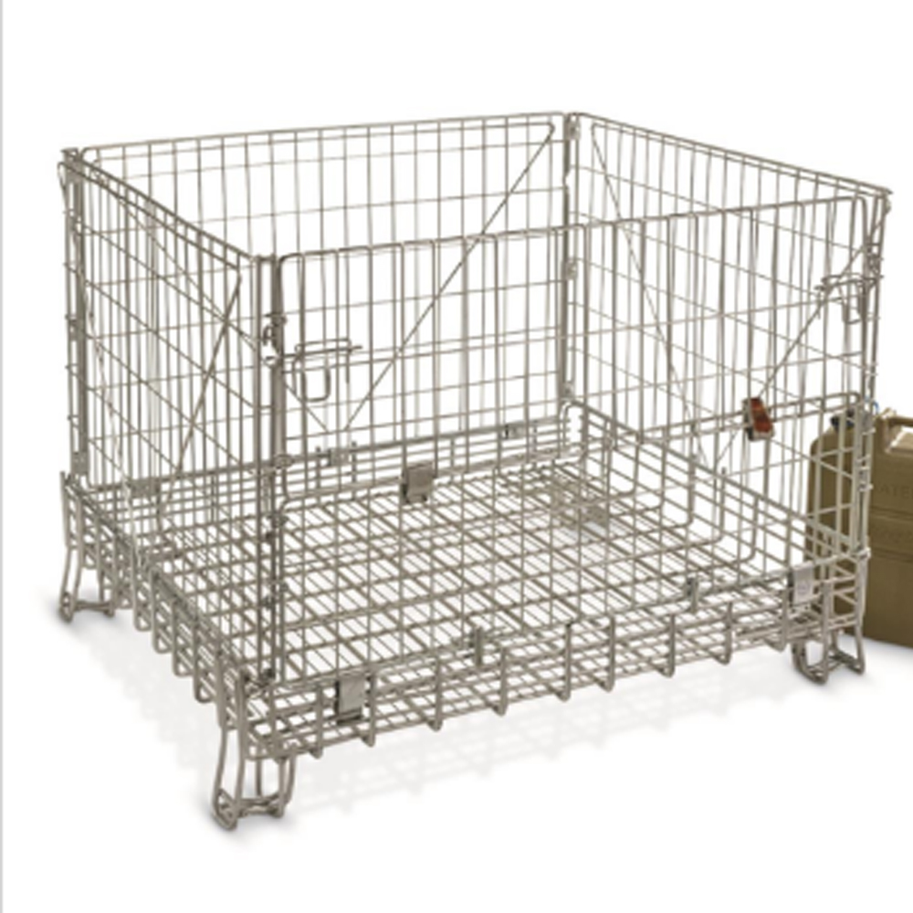 Good Strength Wire Mesh Pallet Cage