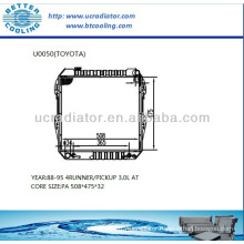 Auto Radiator For TOYOTA 4RUNNER/PICKUP 88-95 3.0L AT OEM: 1640065021/040/0400/041/060/061/070/100/120