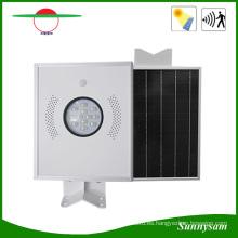 Luz de calle LED todo en uno solar 12W