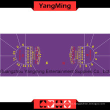 Baccarat Table Layout -15 P Purple (YMBL34G1)