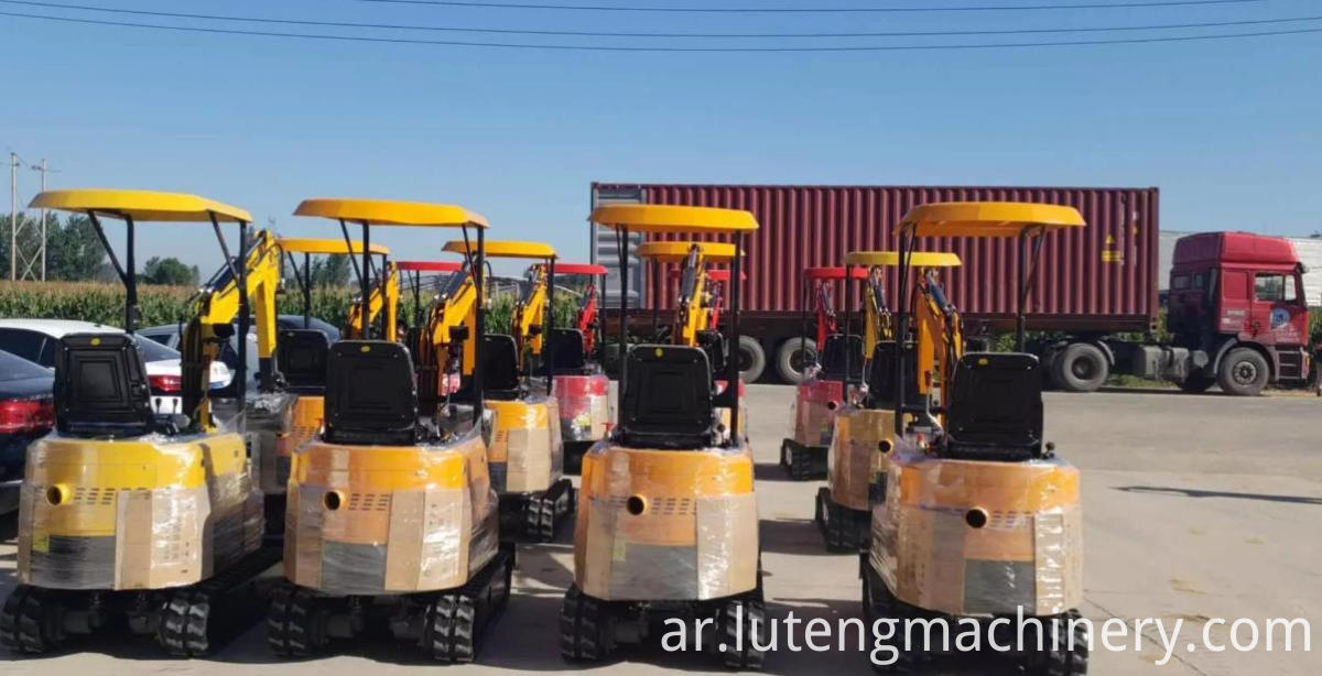 excavtor transport