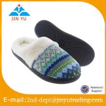Chaussons chauds confortables et confortables à l'hiver pour femme