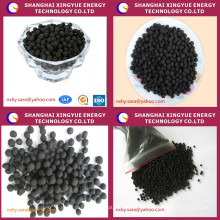 ISO9001 Kohlebasierte kugelförmige Aktivkohle norit