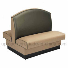 Double-Side Sofa Booth with Wooden Frame for Bar (SP-KS129)