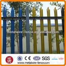 Galvanizado palisade cercas para venda